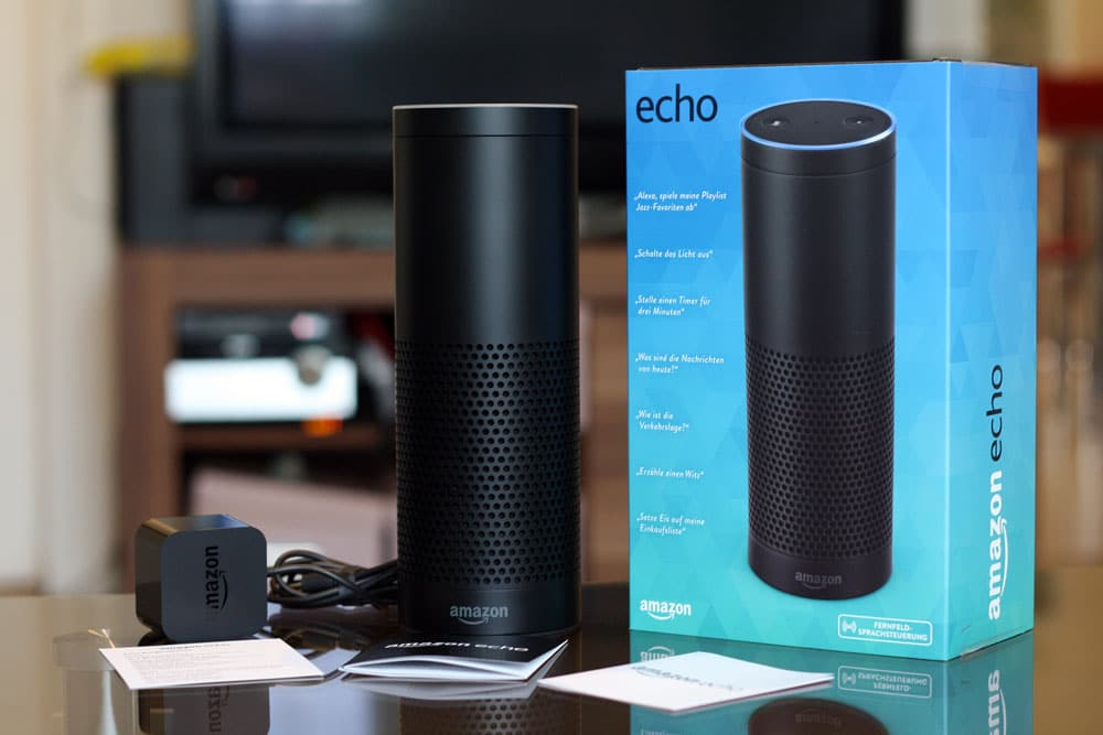 das amazon echo im test so holen sie das beste aus alexa. Black Bedroom Furniture Sets. Home Design Ideas
