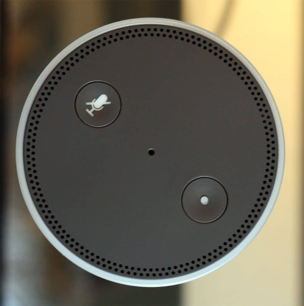 Amazon-Echo-Oberseite
