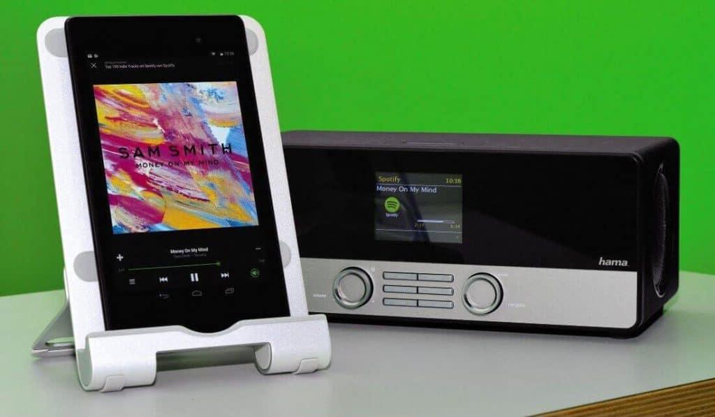 Hama-DIR3100-Steuerung und Spotify Support