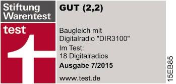 Hama-DIR3100-Stiftung-Warentest-Ergebniss