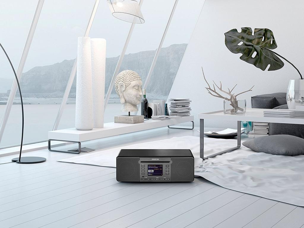 Sangean Internetradio im Wohnzimmer