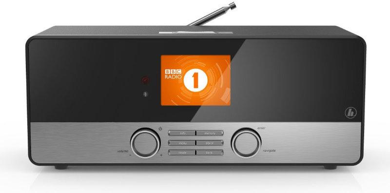 Bildschirm des Internetradios